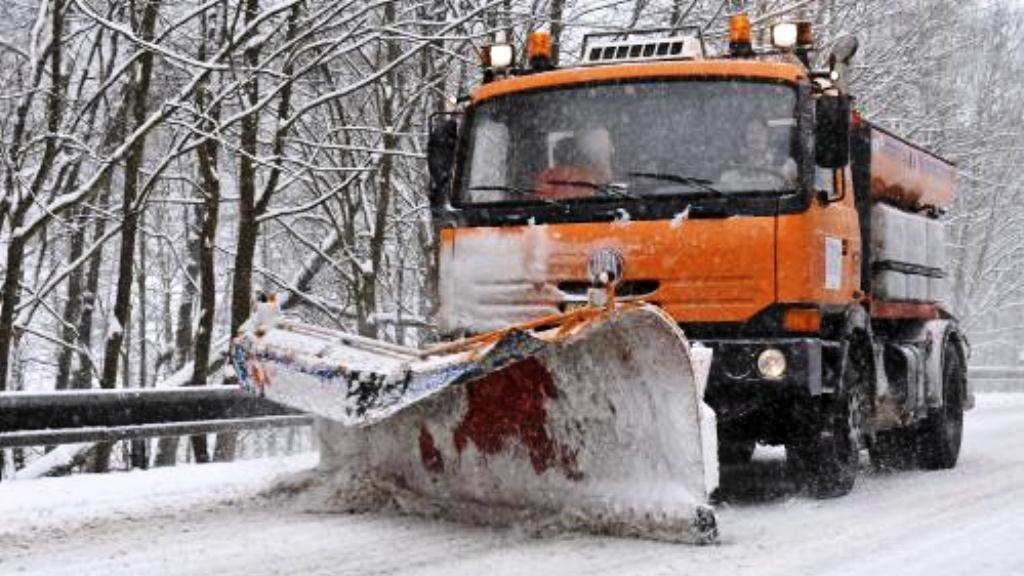 Karlovarský kraj pod sněhem