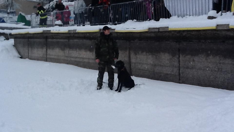 Hasiči i záchranáři dnes cvičili na Brněnské přehradě