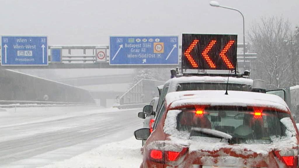 Sněhová kalamita v Rakousku