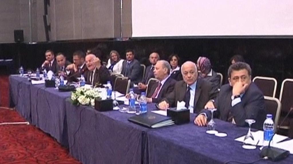 Konference syrské opozice v Káhiře