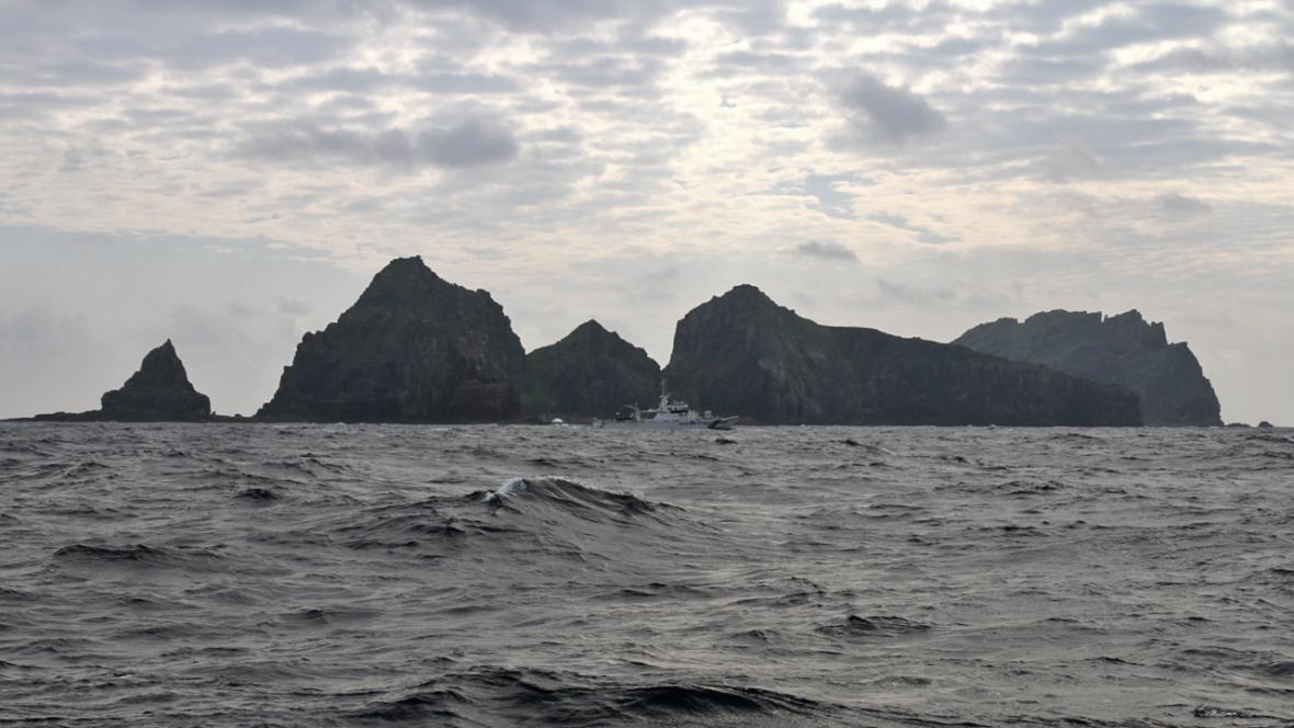 Ostrovy Senkaku (čínsky Ťiao-jü)