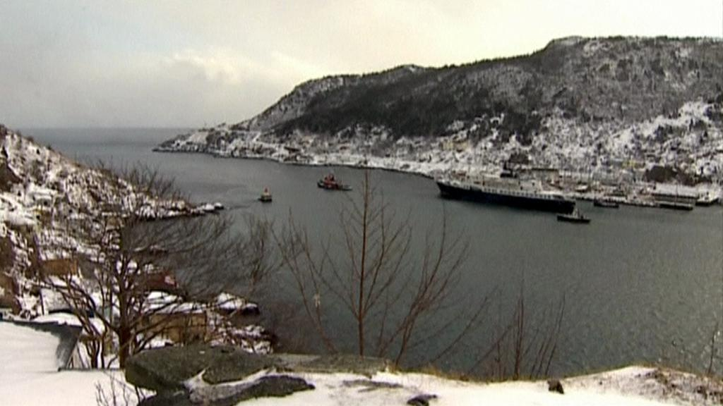 Ljubov Orlova odplouvá z Kanady