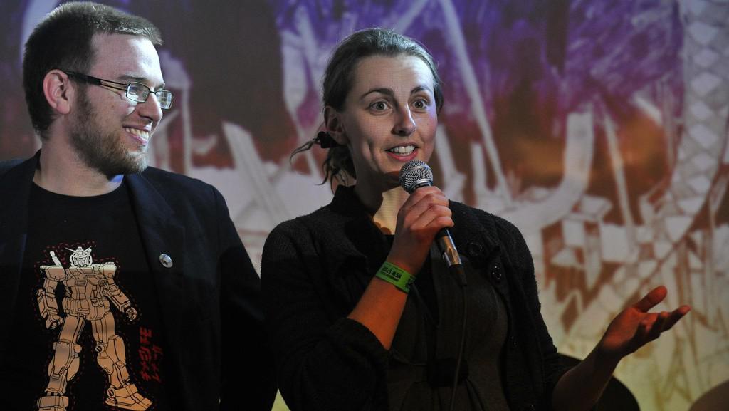 Zleva: Karel Veselý, Marta Svobodová