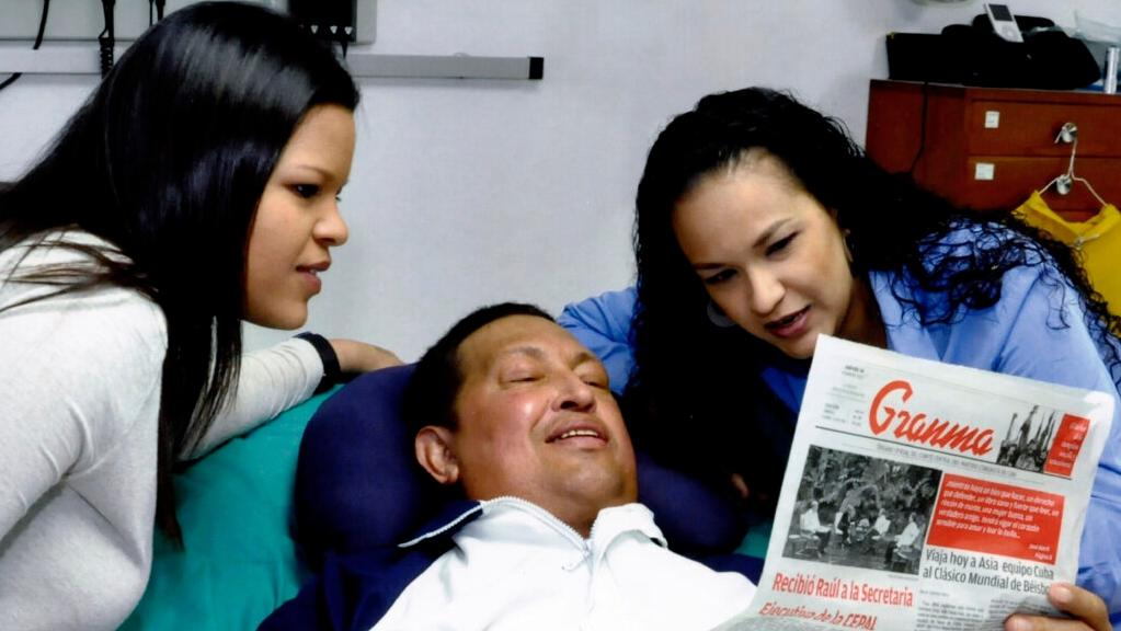 Nové snímky Huga Cháveze