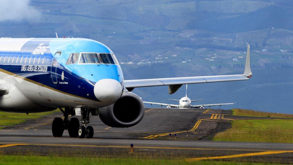 Staré letiště v ekvádorském Quitu