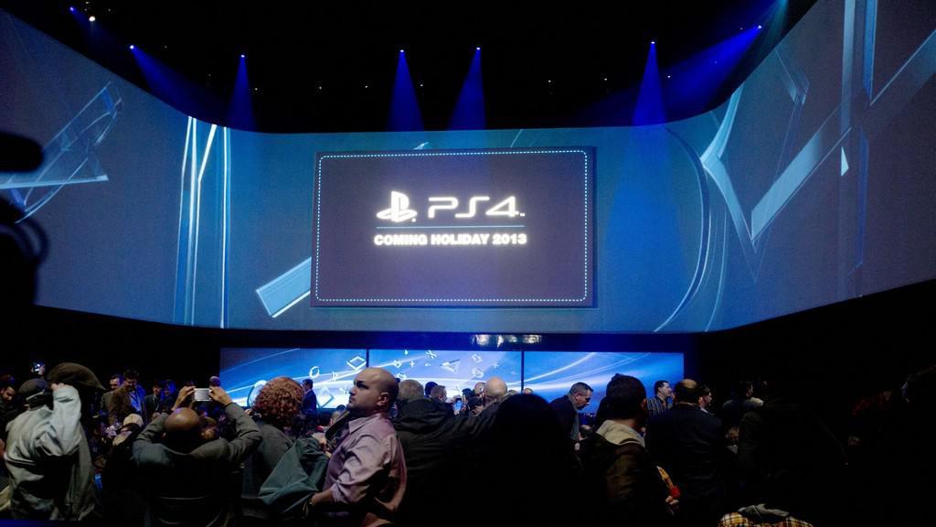 Tisková konference k uvedení herní konzole PlayStation 4 na trh