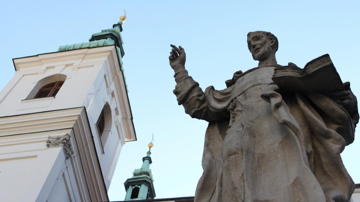 Kostel sv. Michala na Dominikánském náměstí
