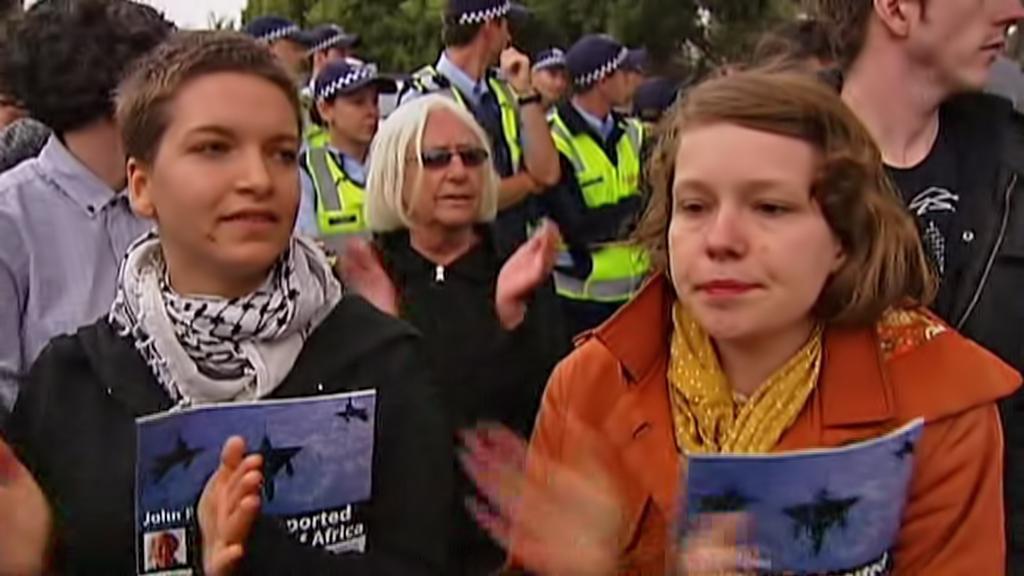 Australský protest proti Wildersovi