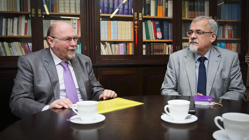 Pavel Stolař a Joel Ruml