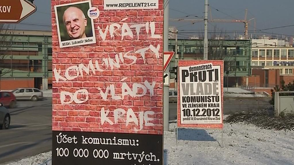 Protikomunistické plakáty sdružení Repelent 21