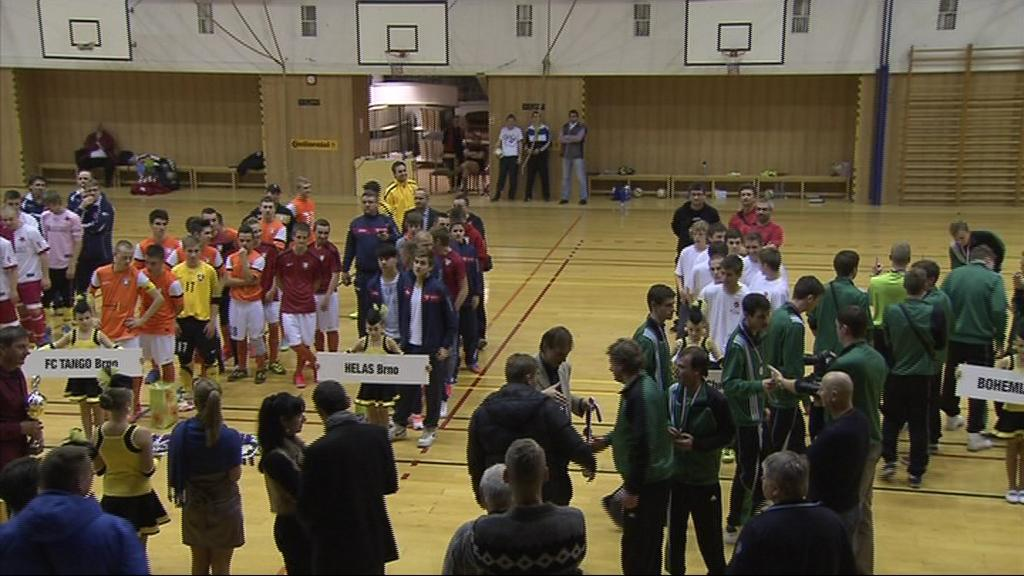 Otrokovice hostily turnaje Final four ve futsalu