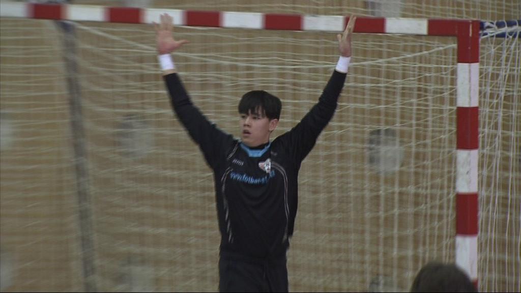 Nejlepší brankář turnaje u-16 slavil triumf s Helasem