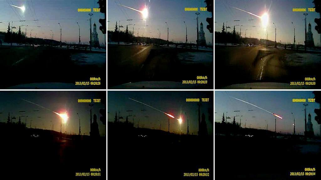 Meteor nad Ruskem