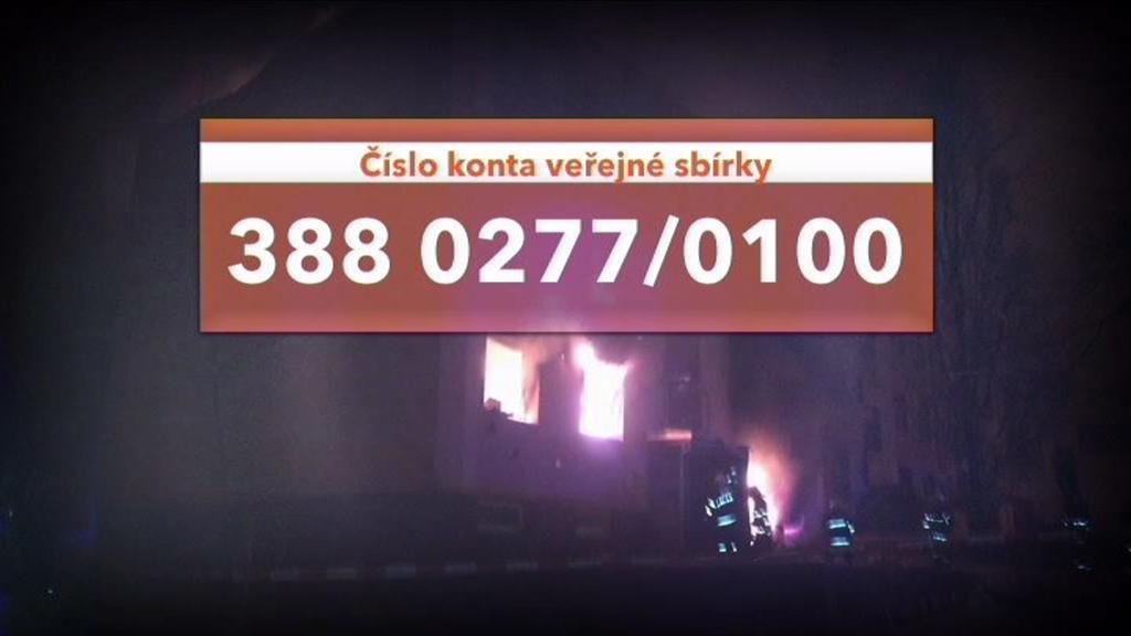 Pomoc obětem výbuchu