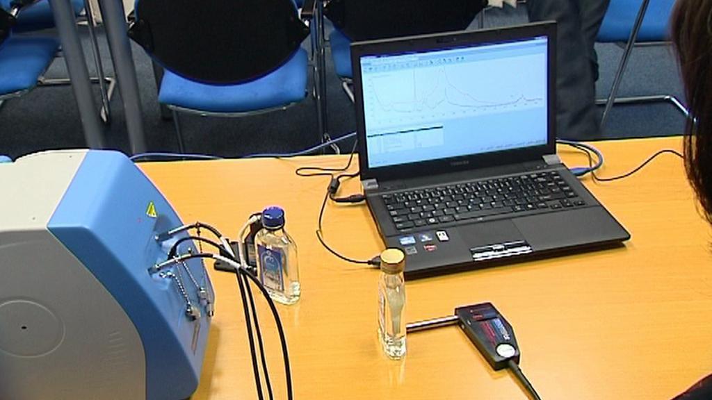 Ramanův spektrometr