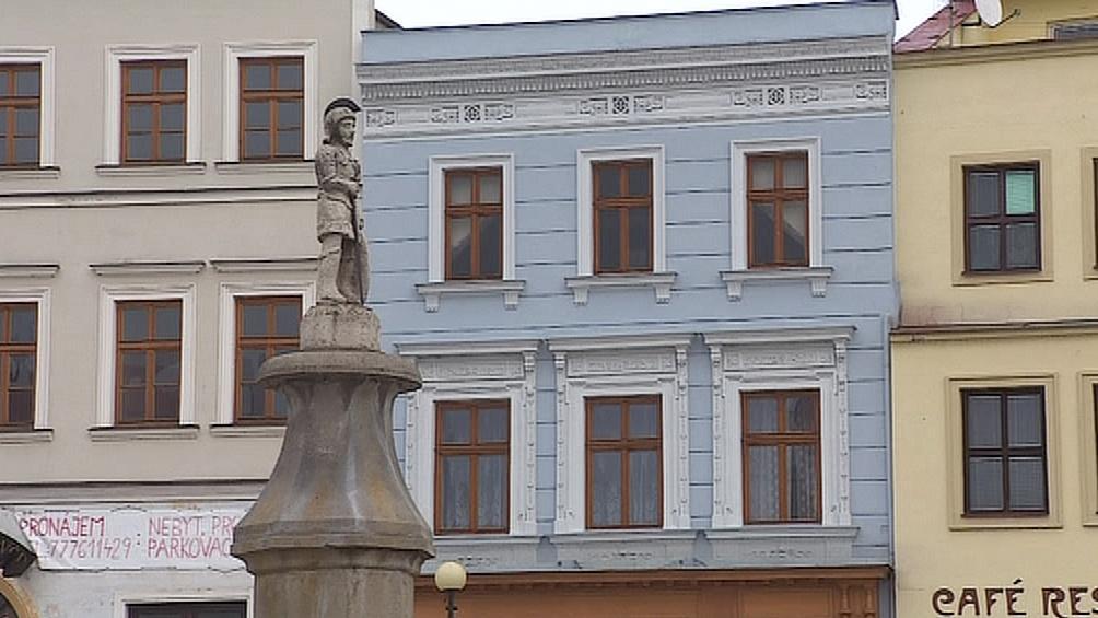 Domy na náměstí v Mikulově