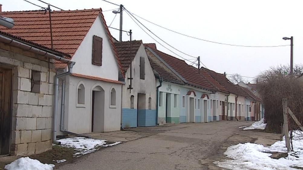 Sklepy v lokalitě Modré Hory v Bořeticích