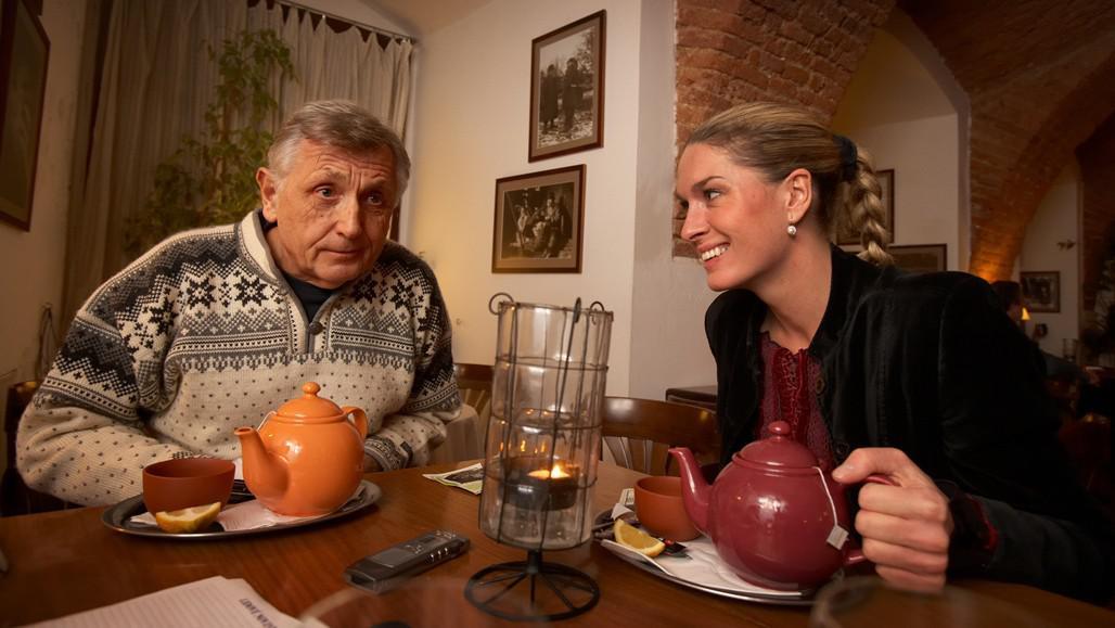 Jiří Menzel a Olga Menzelová-Kelymanová