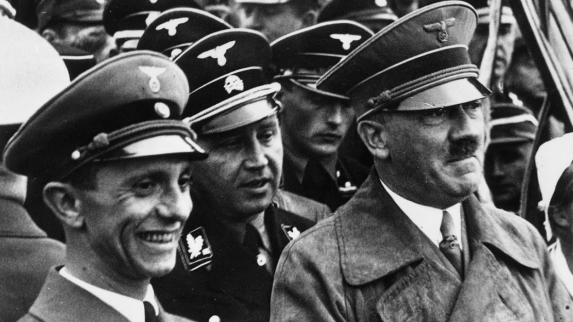 Joseph Goebbels a Adolf Hitler