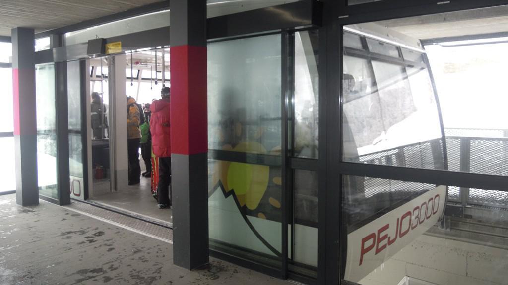 Nová kabinová lanovka v Peju