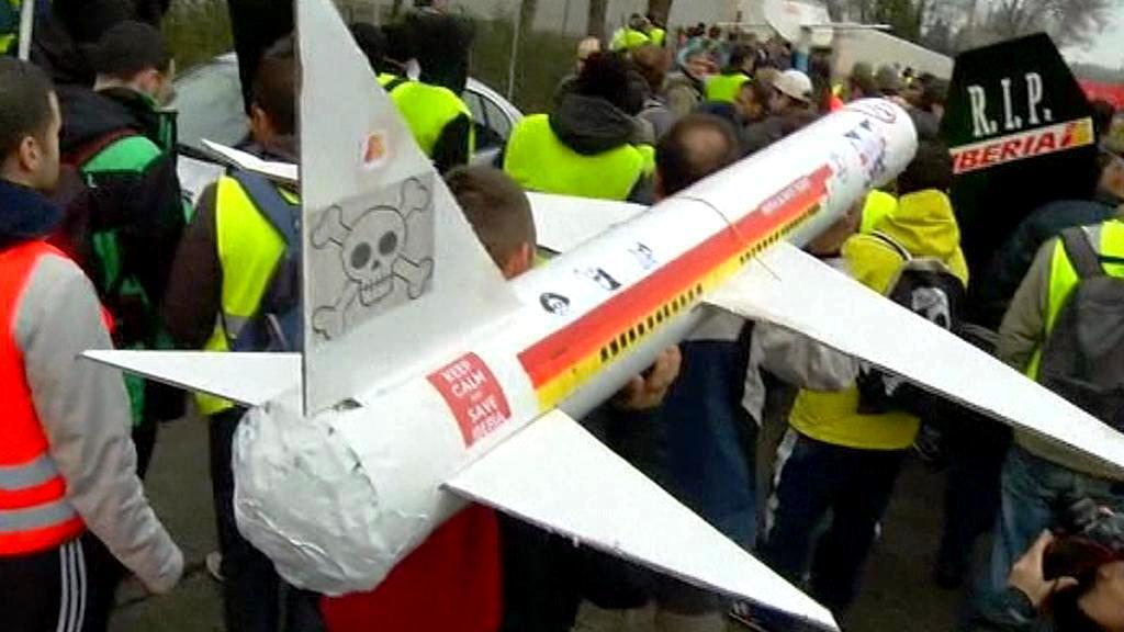 Stávka letecké společnosti Iberia