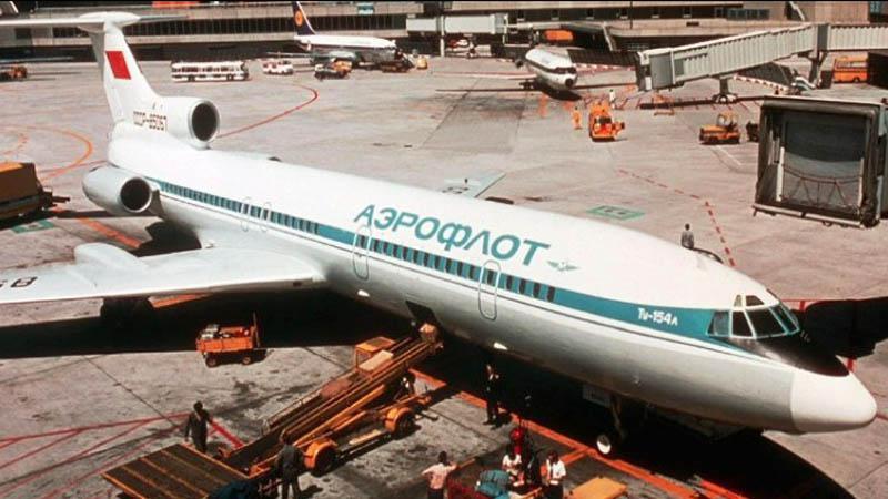Letadlo TU-154