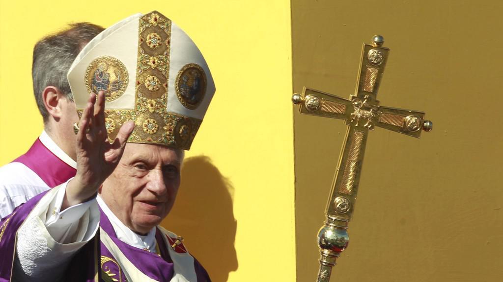 Papež Benedikt XVI. na Kubě