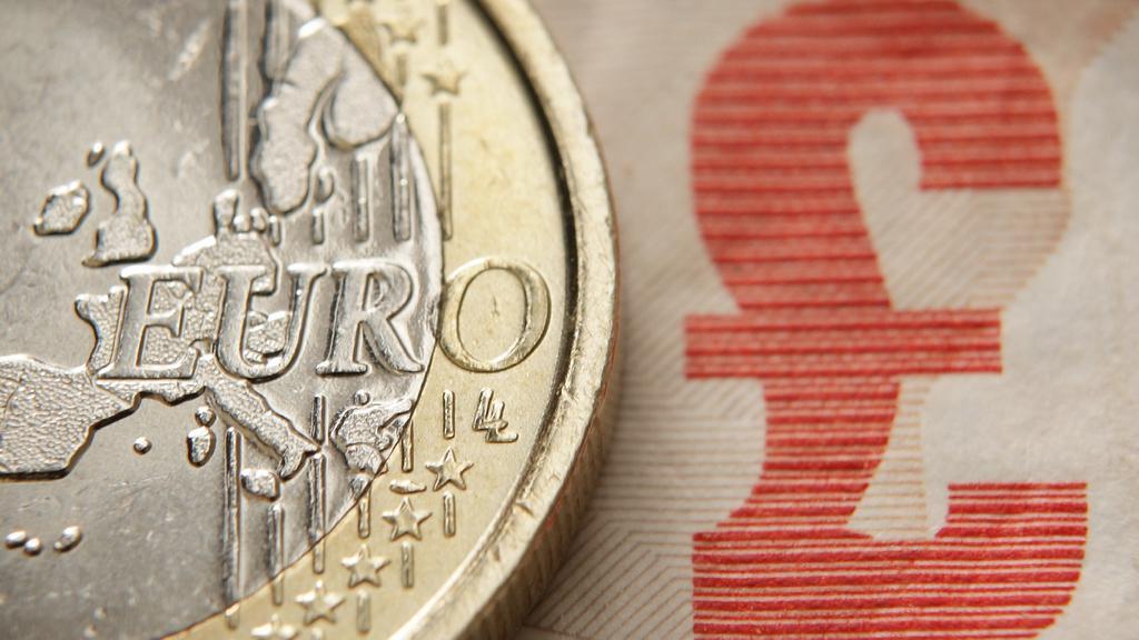 Euro versus libra
