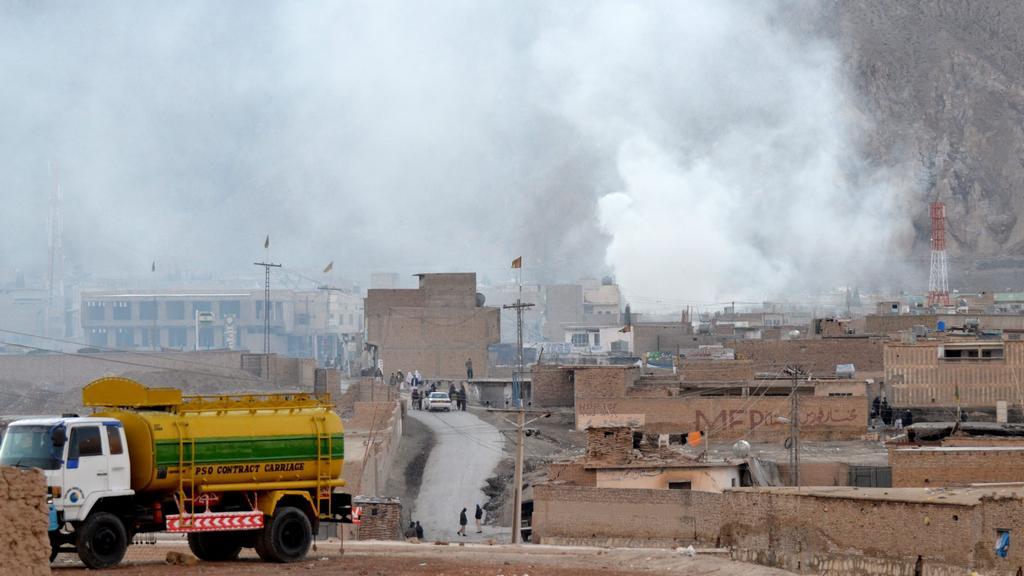 Výbuch na tržišti v pákistánské Kvétě