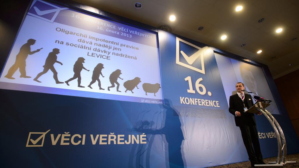 Volební konference Věcí veřejných