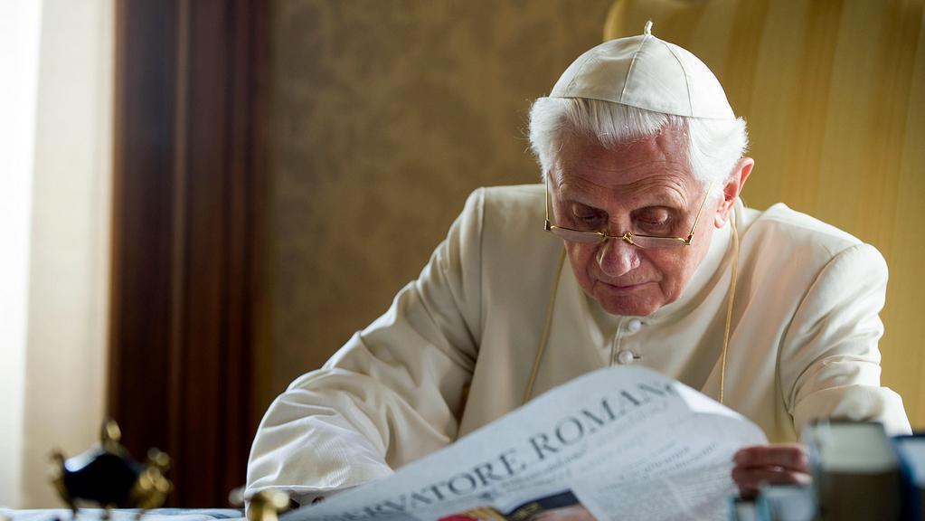 Benedikt XVI. v Castel Gandolfu