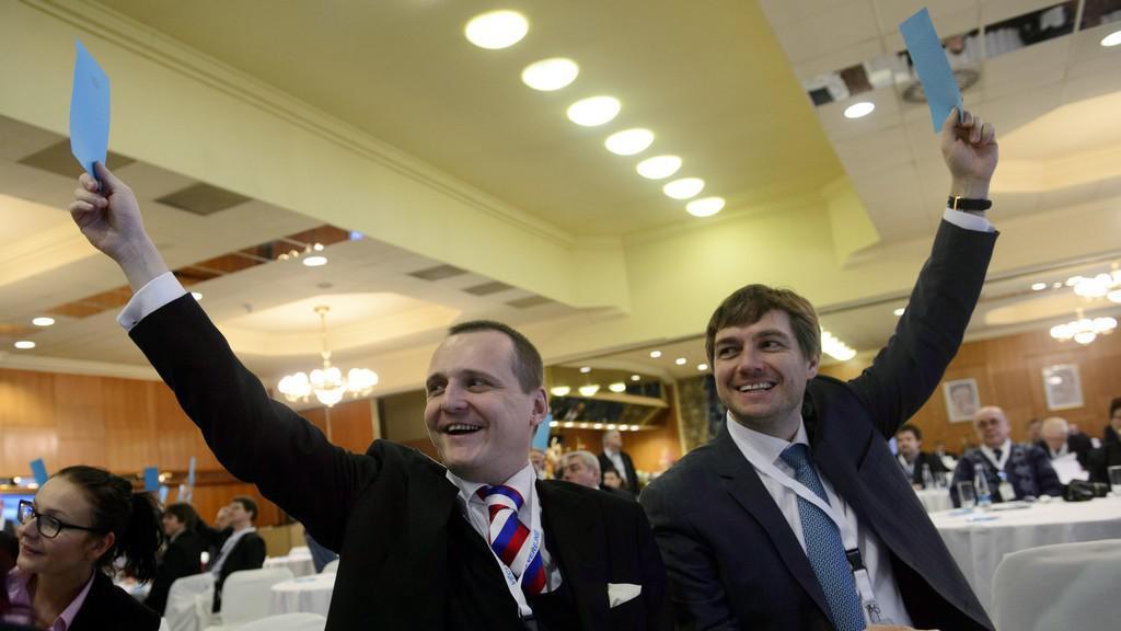 Vít Bárta a Michal Babák na Konferenci VV