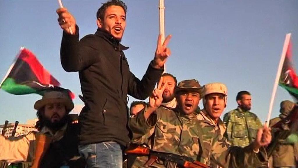 Libye slaví rok od začátku povstání