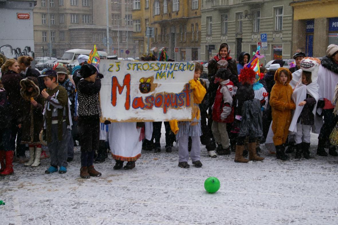 Masopust - ZŠ Strossmayerovo náměstí