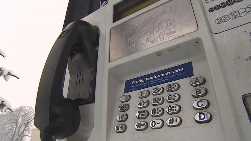 Veřejný telefonní automat