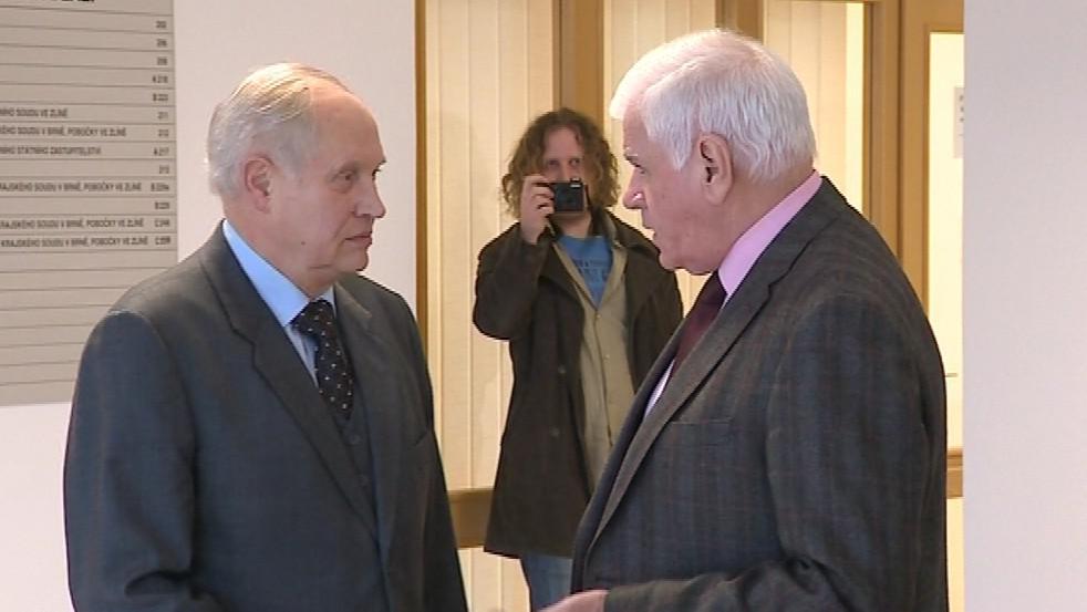 Ignác Hoza s Alexanderem Černým