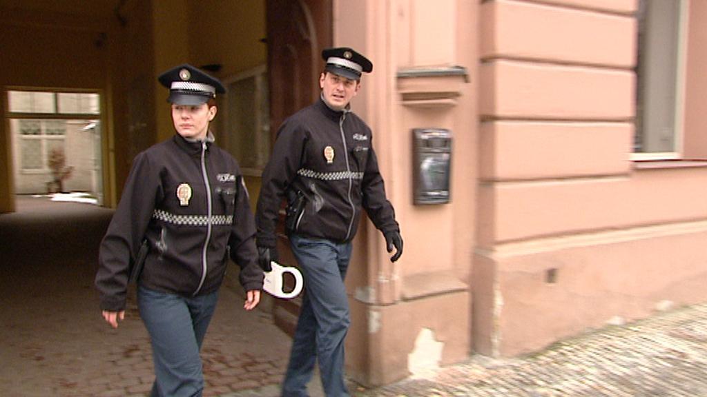 Pražští strážníci