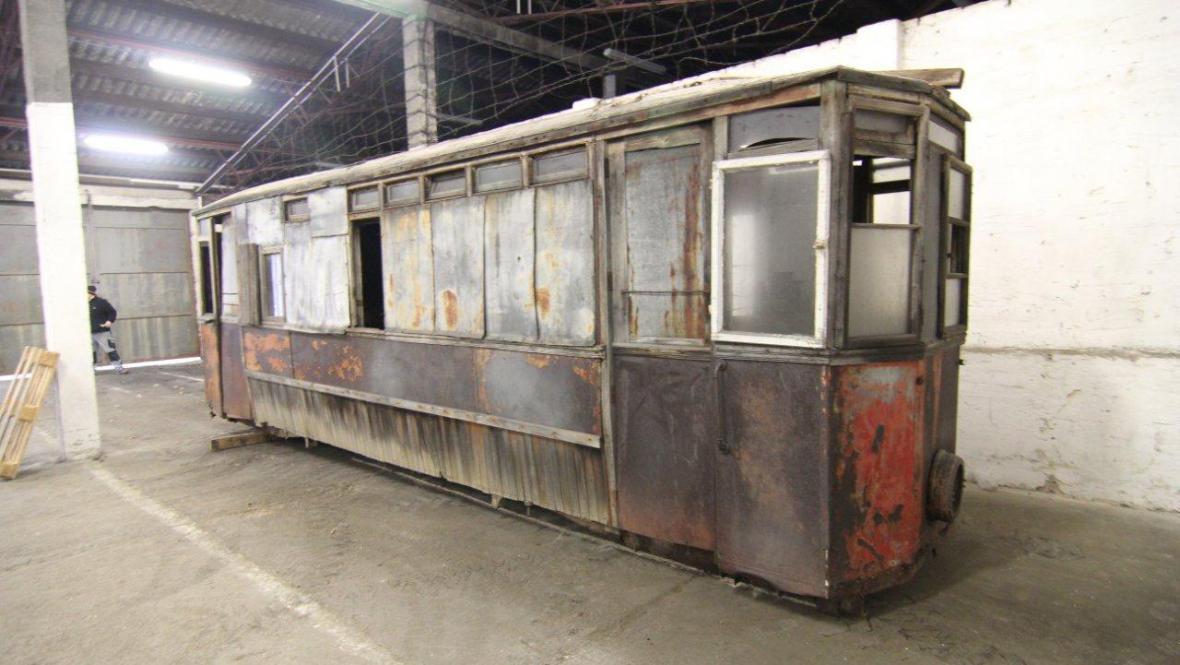 Stará jihlavská tramvaj