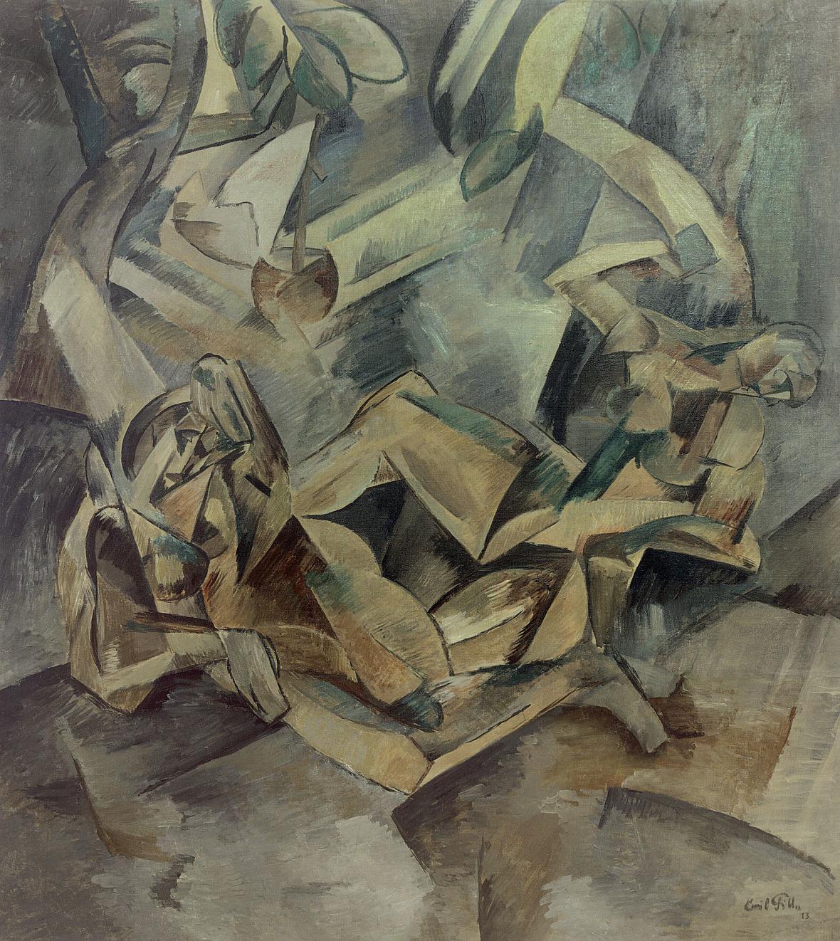 Emil Filla: Dvě ženy