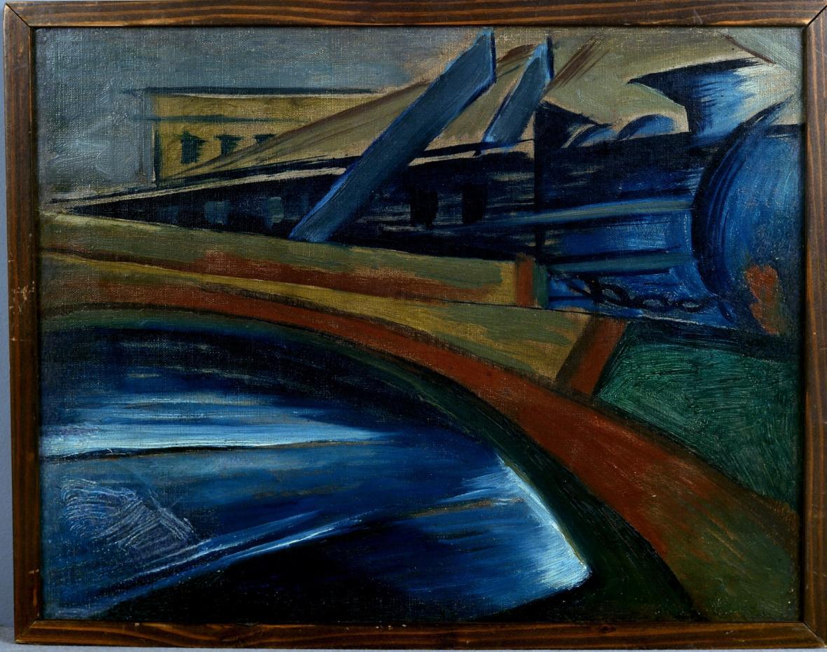 Josef Šíma: Železniční most