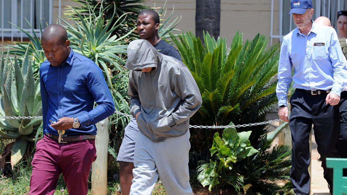 Zatčení Oscara Pistoria