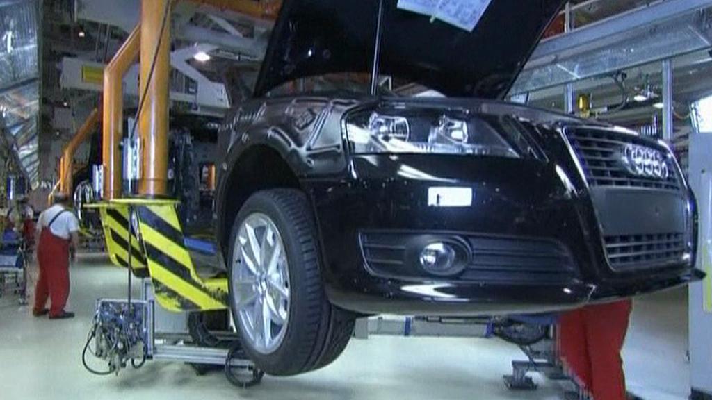 Výroba aut v Německu