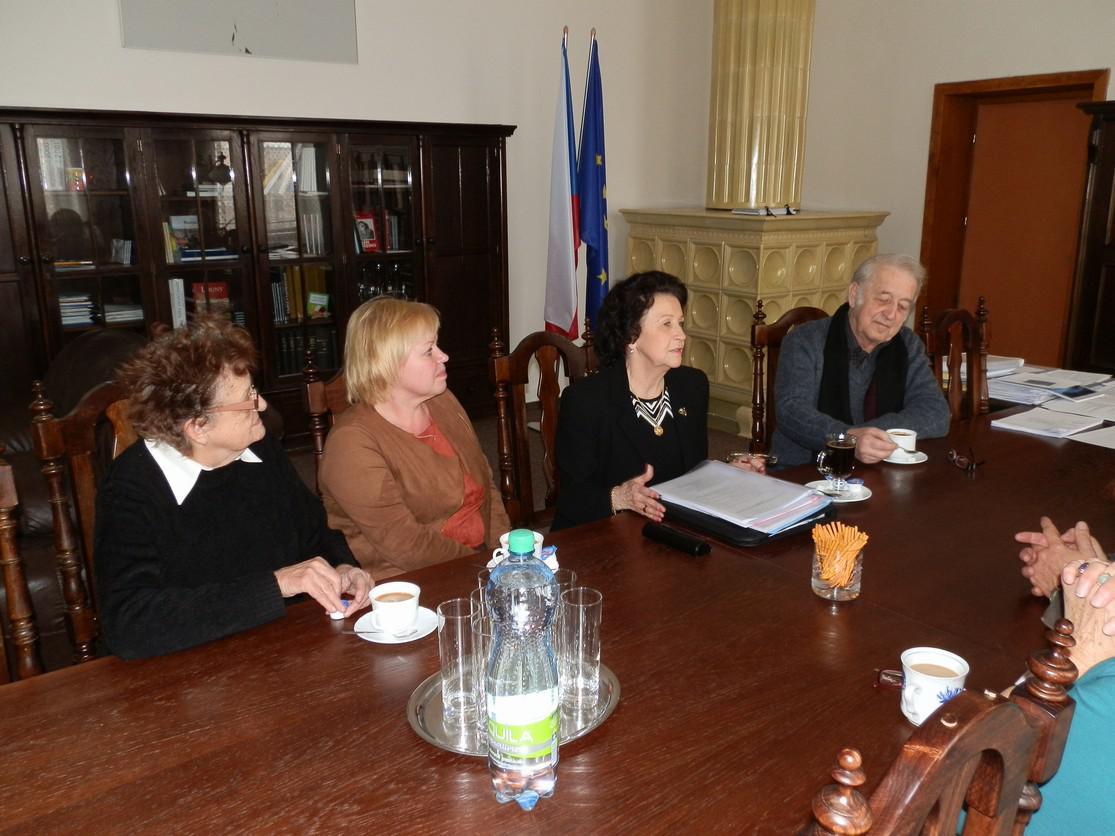 Setkání Spolku rodáků s vedením radnice