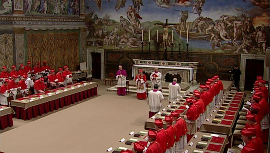 Konkláve volí papeže
