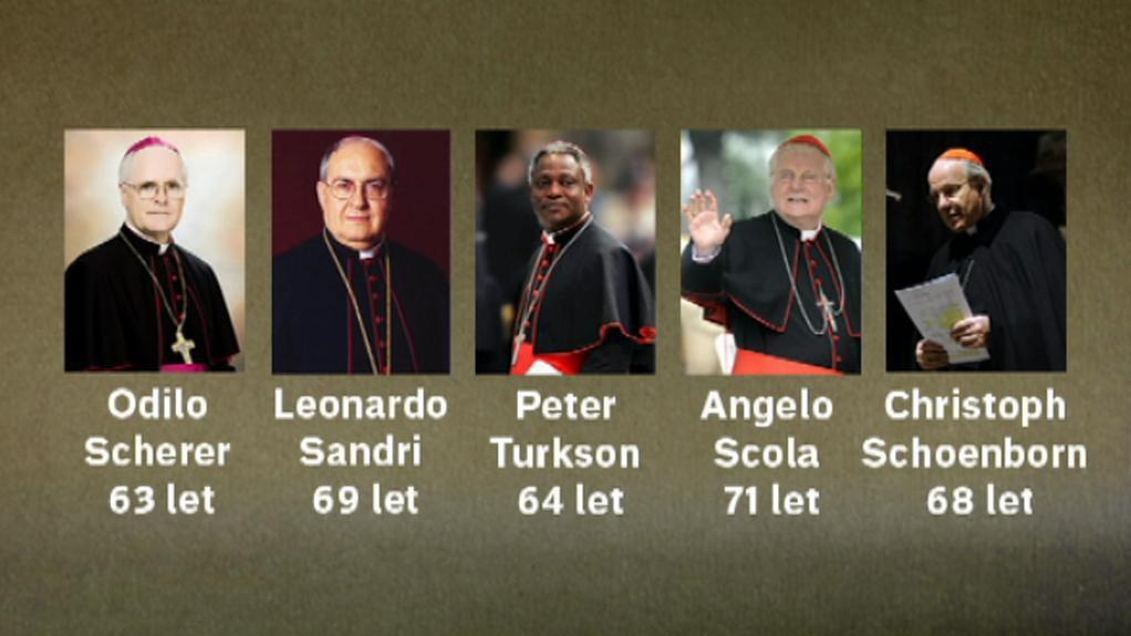 Možní kandidáti na papežský úřad