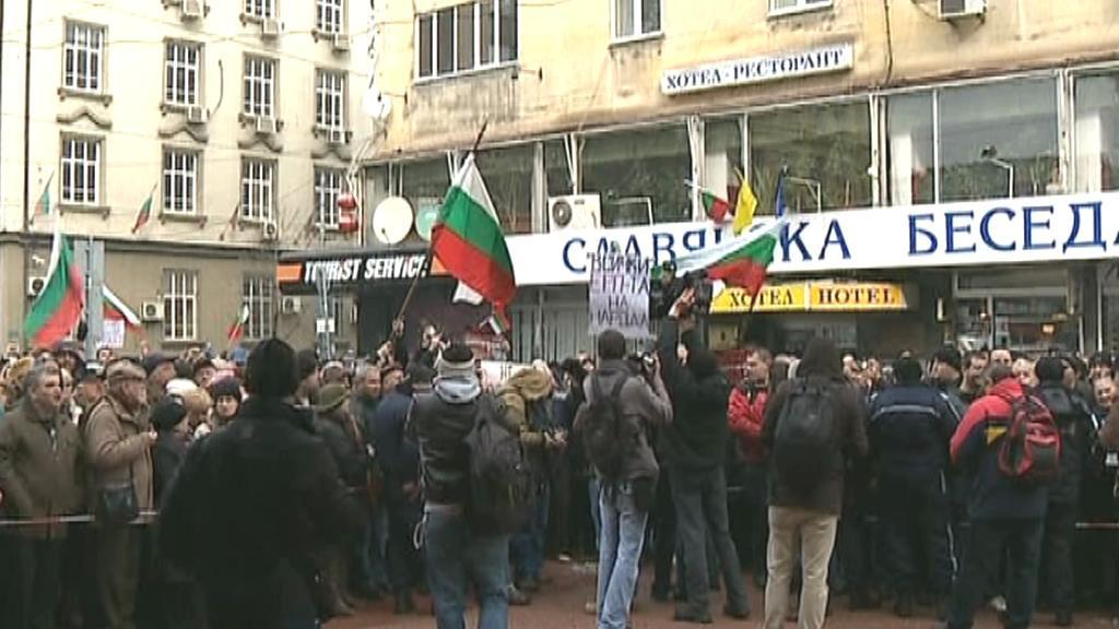 Bulharské protesty za levnější elektřinu