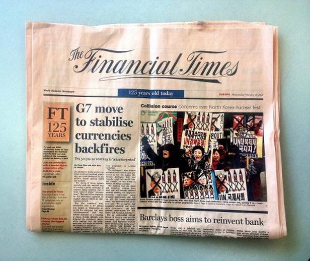 Jubilejní 125. vydání Financial Times