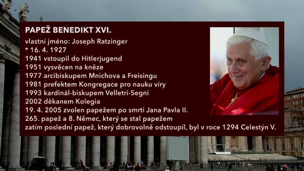 Kdo je Benedikt XVI.