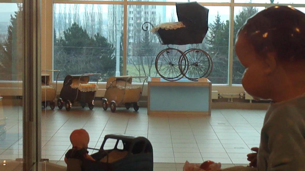 Výstava historických kočárků v Brně