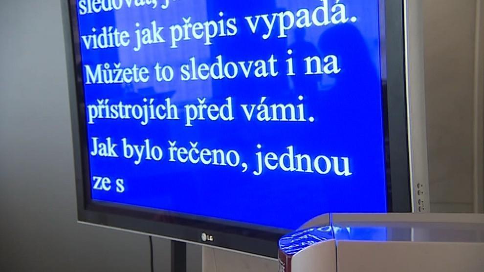 Školy nabízejí studentům systémy na přepis mluveného slova